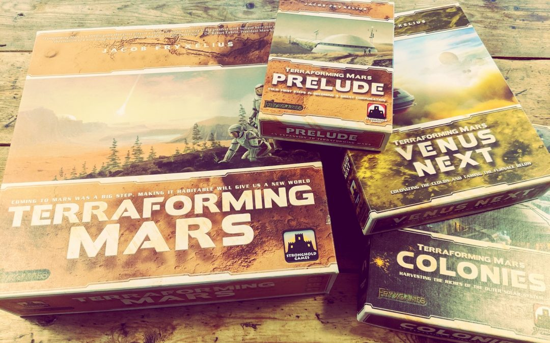 Alfie reviews … Terraforming Mars
