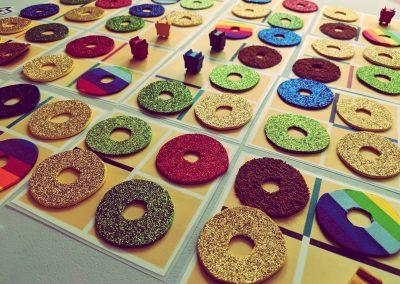 Doughnut Dash board