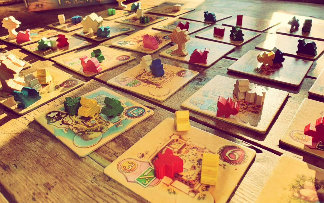Alfie reviews… Five Tribes